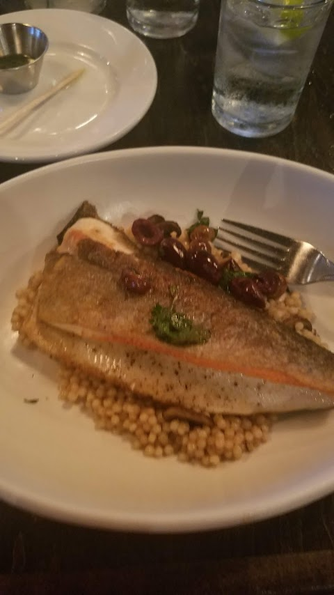 trout at commoner
